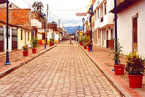 Cotacachi   Colonial Street