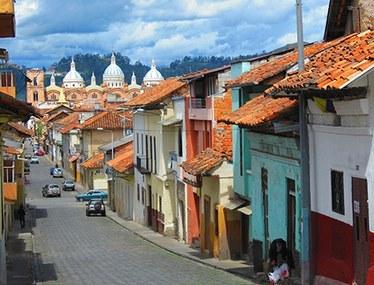 Cuenca   Colonial Street